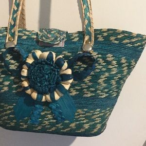 Mexican basket purse